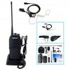 Retevis RT1 Walkie Talkie UHF 400-520MHz 10W 16CH VOX Two Way Radio+ Earpiece