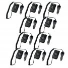 10x Car Charger Battery Eliminator for TYT MD-380 Retevis RT3 Two Way Radio
