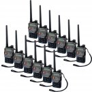 12x Retevis RT-5RV Walkie Talkie 128CH VHF/UHF CTCSS/DCS DTMF Two Way Radio