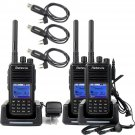 3x Retevis DMR Radio RT3 1000CH UHF Digital Walkie Talkie+ Programming Cable