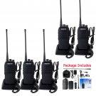 5x Walkie Talkie Retevis RT1 10W 3600mAh 16CH UHF CTCSS/DCS 2-Way Radio