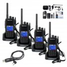 4x Retevis RT3 DMR Digital Mobile Radio Same as TYT MD-380 Two Way Radios