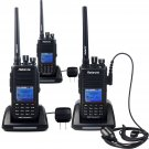 3× IP67 Waterproof Dustproof Retevis RT8 1000Ch DMR Digital 5W UHF 2Way Radio