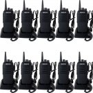10x Retevis RT1 Walkie Talkie UHF 3600mAh 10W Scrambler CTCSS/DCS 2-Way Radio