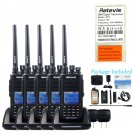 5×Retevis RT8 Walkie-Talkie IP67 Waterproof CTCSS/DCS UHF DMR 5W 1000CH Digital