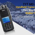 IP67! TYT MD-390 DMR 400-480Mhz UHF Digital Two Way Radio 2200mAh + USB Cable