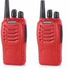 2x Baofeng BF-888S UHF 400-470MHz 5W Qualette Handheld Radio + Free Earpiece