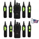 10x Baofeng GT-1 UHF Two-way Ham Radio FM Walkie Talkie 1500mAh Battery BF-888s