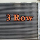 3 ROW 87-02 Jeep Wrangler YJ & TJ Aluminum Radiator w/ Chevy V8 Engine +2× fan