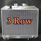 3 row ALUMINUM RADIATOR for JEEP Willys 1941-1952 42 43 44 45 46 47 48 49 50 51