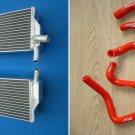 Aluminum radiator&silicone hose FOR Honda CR250R CR 250 2-STROKE 2002 2003 2004