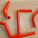 Silicone radiator hose for SUZUKI RMZ450 RMZ 450 2008-2014 09 10 11 12 13 14 RED