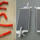 Aluminum radiator&silicone hose FOR Honda CR 250 R CR250 CR250R 2002 2003 2004