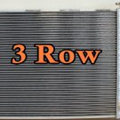 3 ROW 87-02 Jeep Wrangler YJ & TJ Aluminium Radiator w/Chevy V8 Engine + 16''fan