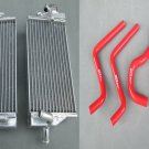 ALUMINUM RADIATOR and hose for HONDA CR 125 R CR125R CR125 2-STROKE 2004 04