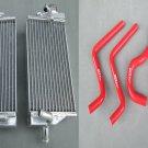 ALUMINUM RADIATOR and hose for HONDA CR 125 R CR125R CR125 2-STROKE 2004 04