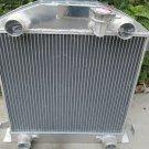 3 ROW Aluminum Radiator for FORD Model A W/FLATHEAD ENGINE 1928 1929 28 29