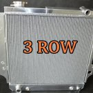 3 rows aluminum radiator for Jeep Wrangler YJ TJ 2.4L/2.5L L4, 4.0L/4.2L L6 87-06
