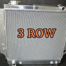 3 ROW ALUMINUM RACING RADIATOR for 87-06 JEEP WRANGLER YJ/TJ 2.4L 2.5L 4.0L 4.2L