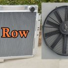 New Toyota Land Cruiser BJ40 DIESEL BJ42 Aluminum Radiator MT + 16''FAN
