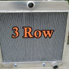3 ROW FOR 1955 1956 1957 ALUMINUM RADIATOR CHEVY BEL AIR V8 W/COOLER 55 56 57