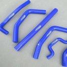 Silicone radiator hose for KAWASAKI KX250F KX 250 F 2009-2011 YEAR 2010 BLUE