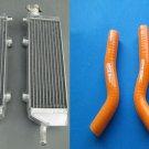 Aluminum radiator AND HOSE FOR KTM 250 SX-F SXF 2007 2008 2009 2010