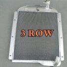 3 Row FOR Chevy PickUp Trucks 1941 42 43 44 45 1946 All Aluminum Radiator