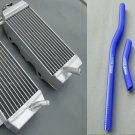 Aluminum Radiator AND HOSE for Yamaha YZF250 YZ250F YZF 250 YZ 250F 06 2006