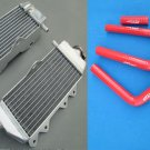 FOR Yamaha YZ125 YZ 125 2005-2013 2006 2010 2012 2013 Aluminum Radiator and HOSE