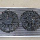 ALUMINUM RADIATOR 70-81 Chevy Camaro Nova 70-87 Chevrolet BUICK REGAL K20 + FAN