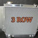 3 ROW ALUMINUM RADIATOR 87-06 JEEP WRANGLER YJ/TJ 2.4L-4.2L