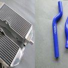 Radiator and hose for Yamaha YZ250 2002-2015 03 04 05 06 07 08 09 10 11 12 13 14