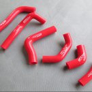 New 2003 2002-2004 FOR Honda CRF450R CR CRF 450F Silicone Radiator Hose Kit RED