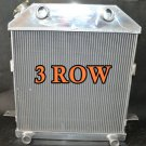 3 ROW FOR ALUMINUM RADIATOR Ford Mercury Car Flat Head V8 1939 1940 1941 39 40