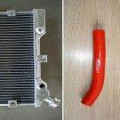 Aluminum Radiator and hose for Suzuki LTR450 LTR 450 LT450R 2006 2007 2008 2009