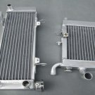 Aluminum radiator FOR HONDA RVF400 NC35 or NC30 VFR400 lower with fan bracket