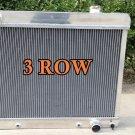 3ROW Aluminum Radiator Chevy Panel Truck C10 C20 C30 PONTIAC OLDS CARS 63-66