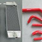 R&L Suzuki RM-Z250 RMZ250 RMZ 250 05 06 2005 2006 aluminum radiator + hose