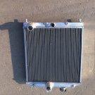 FOR 32MM IN/OUT PIPE 1992-2000 Honda Civic EK EG B16 B18 ALUMINUM RADIATOR 93 94