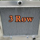 FOR 1955 1956 1957 3 ROW FORD Chevrolet CHEVY V8 Style ENGINE Aluminum Radiator