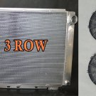 3 ROW Aluminum Radiator for Ford Thunderbird 1964 1965 1966 64 65 66 + 2 * Fan