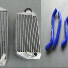 FOR Suzuki RMZ450 RMZ 450 2007 07 aluminum/alloy radiator & silicone hose kit