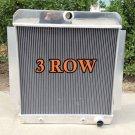 FOR 3 ROW ALUMINUM RADIATOR 1955-1959 CHEVY PICK UP TRUCK V8 1956 1957 1958