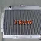 3 ROW Aluminum Radiator 1972-1986 Jeep CJ GM Chevy Config CONVERSION 1973 1985