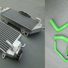 Aluminum Radiator and hose for KAWASAKI KXF450 KX450F 2012 2013 2014 12 13 14