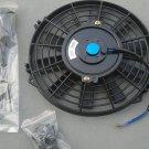 "New 10"" Universal Electric Radiator Cooling Fan + Mounting Kits"