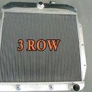 3 Rows for Chevy GMC Truck Pickup 1955 1956 1957 1958 1959 Aluminum Radiator