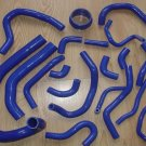 SILICONE HOSE for Toyota Supra MK3 MA70 7MGE/7MGTE/7M-GT 1986-1992 BLUE