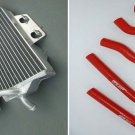Aluminum Radiator & hose for Honda CR125 CR125R CR 125 R 2005 2007 2006 05 06 07